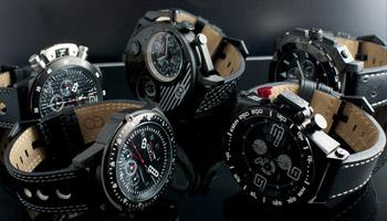 montres homme Black Edition