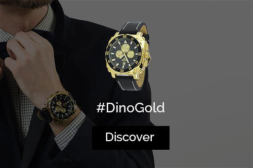 New Dino Gold watch