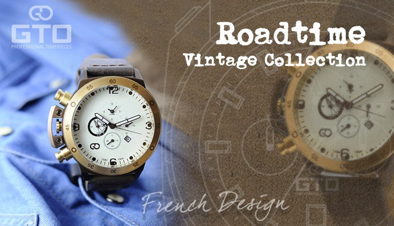 Montre homme Roadtime Vintage
