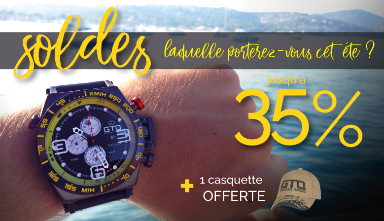 SOLDES Montres pour homme by GTO Time