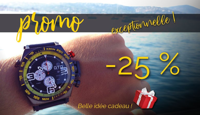 Promo Montre Homme GTO Warm Up -25%